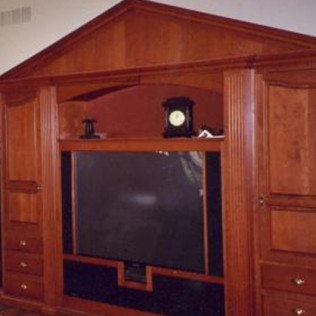 Entertainment Center Addition